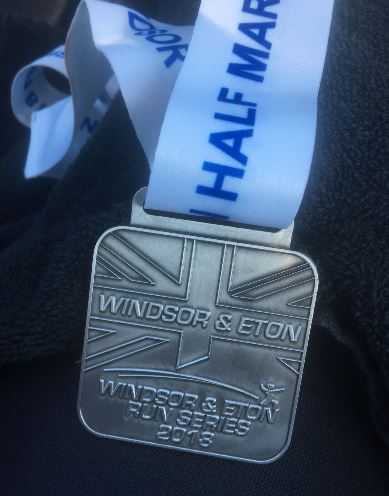 Windsor & eton Run Series medal